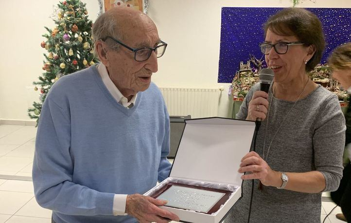 Ángel Díaz cumple 100 años.