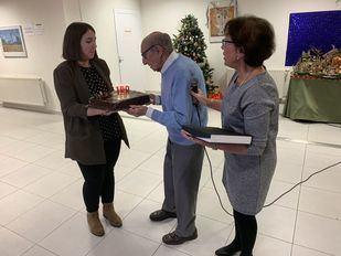 Homenaje al siglo de vida de Ángel Díaz, uno de los vecinos más longevos de Torrejón