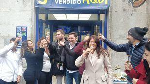 El 750, tercer premio, cae en Madrid y Parla