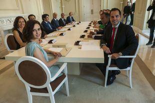 Primer Consejo de Gobierno presidido por Isabel Díaz Ayuso