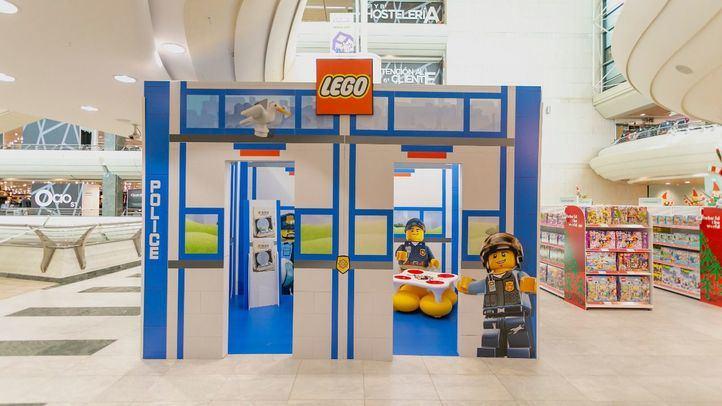 El Corte Inglés y Lego donan 20.000 juegos de construcción a la Fundación Aladina