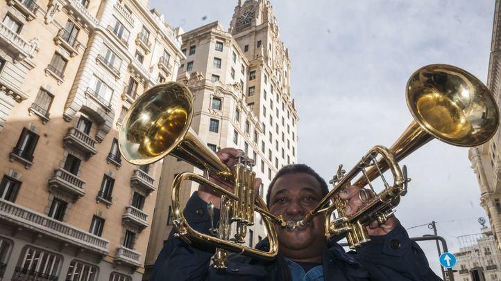 El trompetista Manuel Machado.