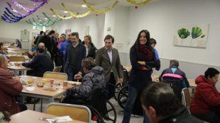 Almeida y Villacís felicitan la Navidad a los servicios de emergencia