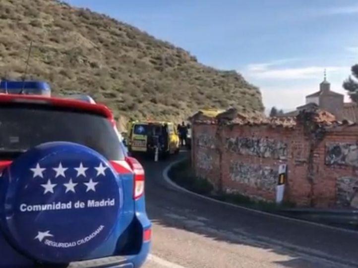 Muere atropellado un ciclista en la M-832