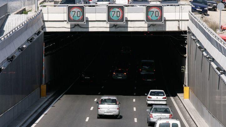 Entrada a un túnel de Madrid.