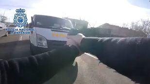 Detenido tras robar una furgoneta llena de regalos navideños