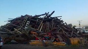 La Guardia Civil recupera más de 35 toneladas de segmentos de vía robadas