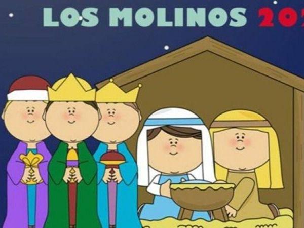 Polémico cartel de la Cabalgata de Reyes de Los Molinos