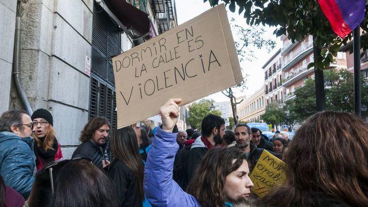 Huelga en el Samur Social de Madrid.