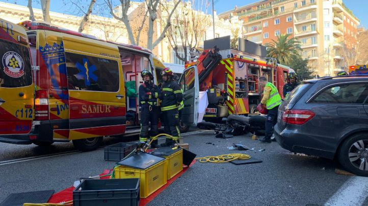Accidente mortal en el Paseo del General Martínez Campos.