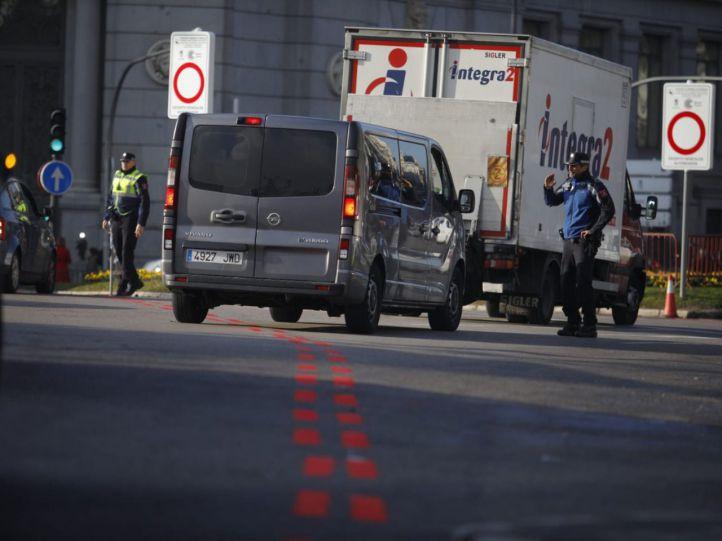 Madrid Central estrena perímetro y restricciones