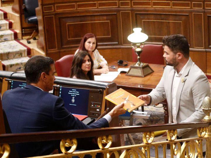 ERC decide hoy su abstención en la investidura de Sánchez