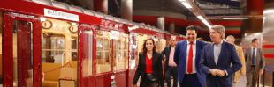 Conducir trenes históricos o visitar estaciones de 1919: Metro celebra su centenario con realidad virtual