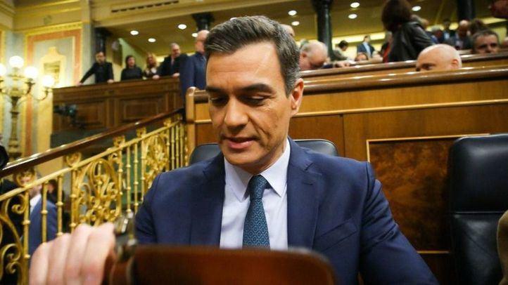 Sánchez pierde la primera votación y tendrá que esperar hasta el martes
