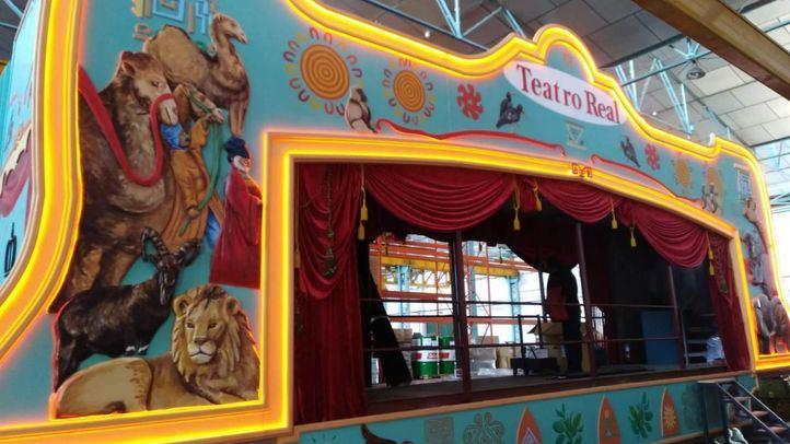 El Teatro Real participa por segunda vez en la Cabalgata de Reyes de Madrid