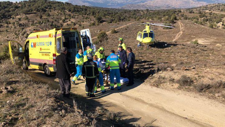 Un muerto y tres heridos por intoxicación de monóxido de carbono en Colmenar