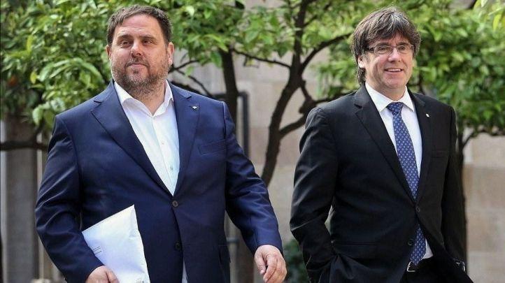Europa reconoce como eurodiputados a Junqueras, Puigdemont y Comín