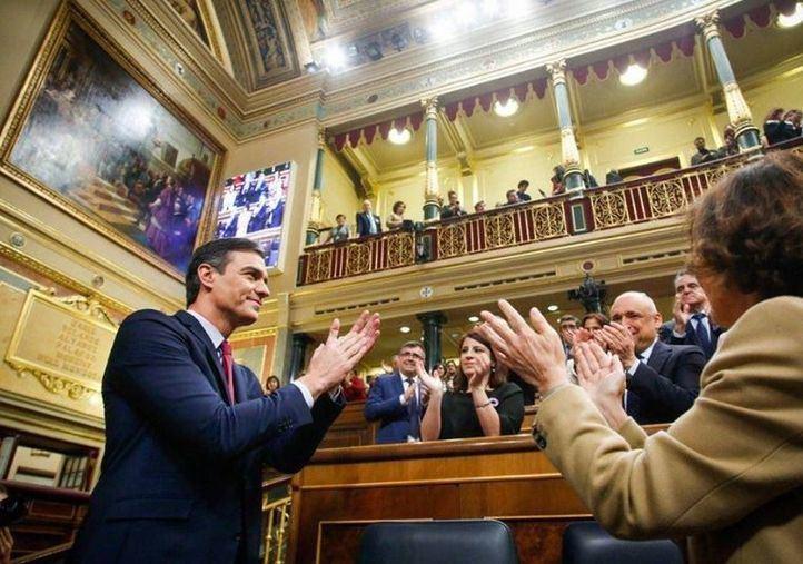 Pedro Sánchez ha sido investido, de nuevo, presidente del Gobierno