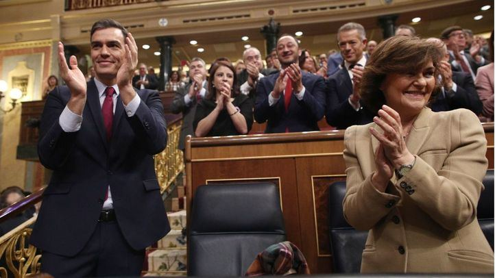 Investidura de Pedro Sánchez.