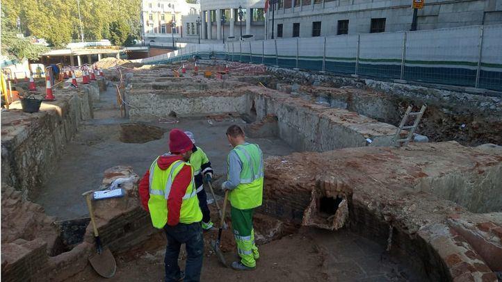 Madrid intentará conservar los restos del Palacio de Godoy