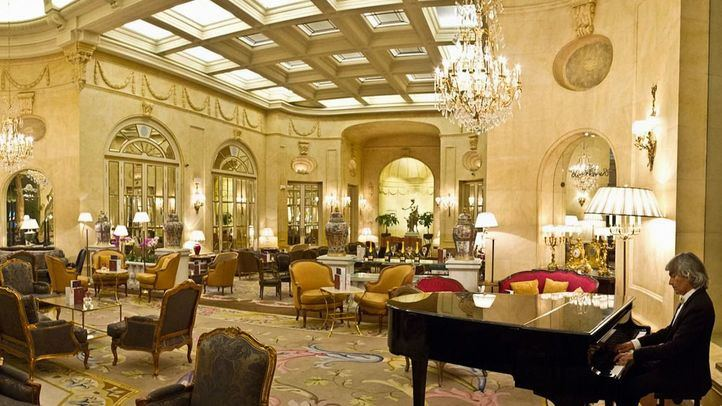 Lobby del Hotel Ritz .