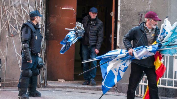 Desalojado el edificio okupado por Hogar Social Madrid en Malasaña