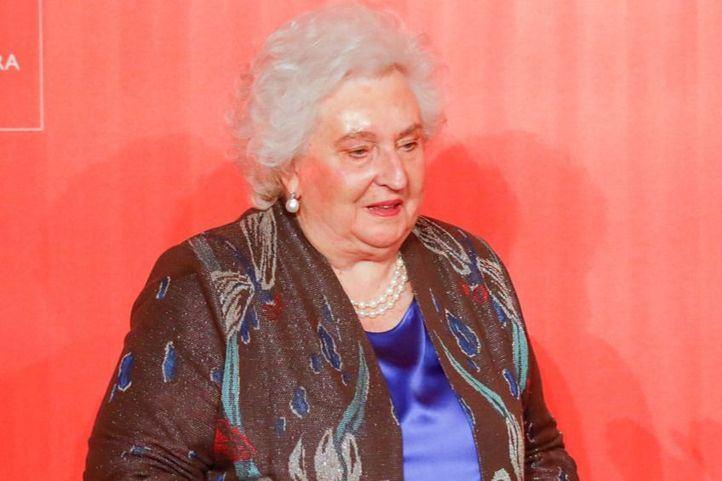 La hermana del rey emérito, Don Juan Carlos, Pilar de Borbón.