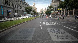 Ecologistas en Acción recurre ante la Justicia la reducción del perímetro de Madrid Central.