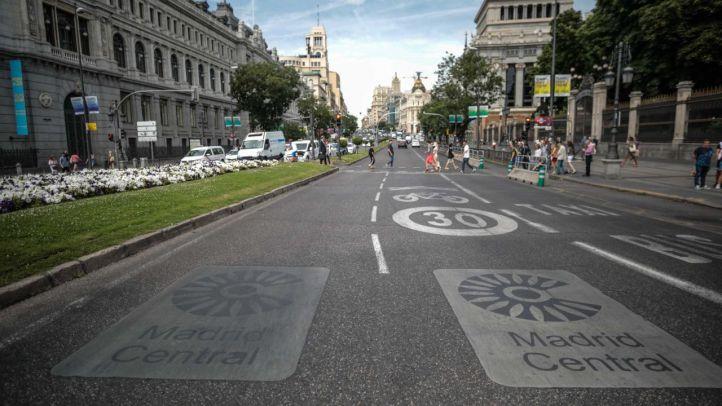 Ecologistas recurre ante los tribunales el recorte del perímetro de Madrid Central