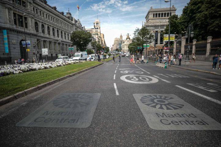 Madrid Central convierte 2019 en el año con menor contaminación de la década