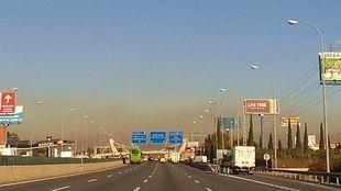Getafe supera por quinta vez en ocho días los valores de partículas PM10