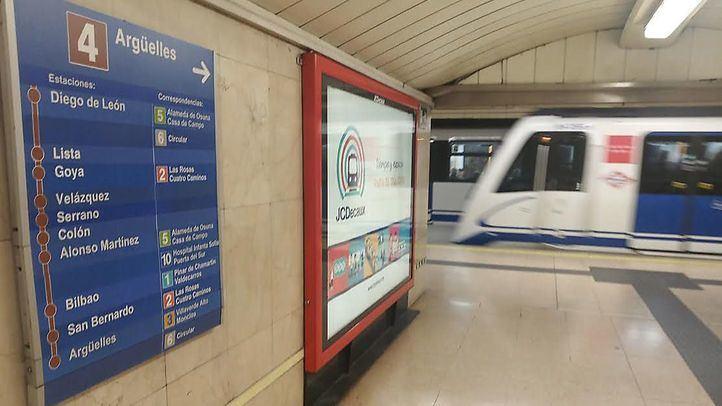 Metro reforzará a partir del lunes las líneas 1, 2 y 6 durante los dos meses que dure el cierre de la Línea 4