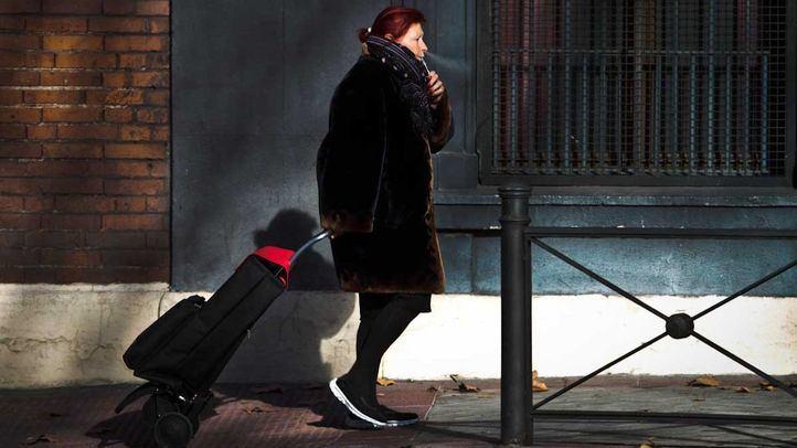 Temporal de frío en la Comunidad de Madrid.