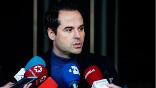 Ignacio Aguado, vicepresidente del Gobierno Regional, anuncia la apertura del parking disuasorio de Colmenar