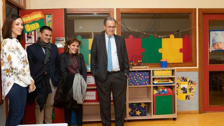 El Programa Bilingüe, en todos los centros de nueva creación de 3 a 6 años