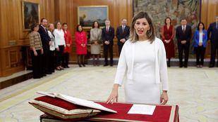 La nueva ministra de Trabajo, Yolanda Díaz