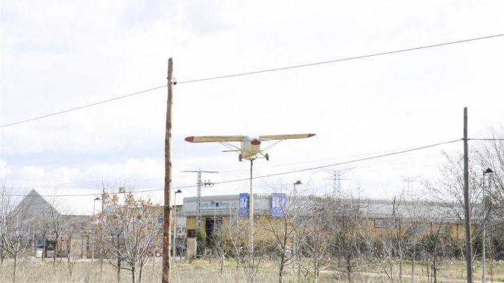 Dos heridos por el aterrizaje forzoso de una avioneta en Sevilla la Nueva