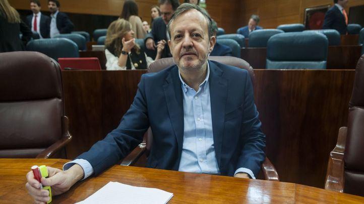 El Consejero de Políticas Sociales y Familia, Alberto Reyero