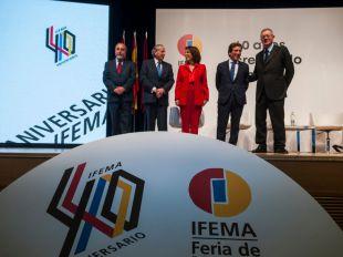 """Los alcaldes coinciden: """"Ifema refleja la evolución española"""""""