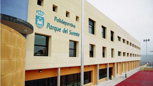 Polideportivo municipal Parque del Sureste en Rivas Vaciamadrid
