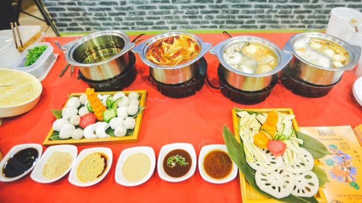 Platos típicos en China Taste.