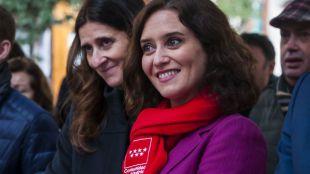 Isabel Díaz Ayuso, al acecho del Mobile World Congress