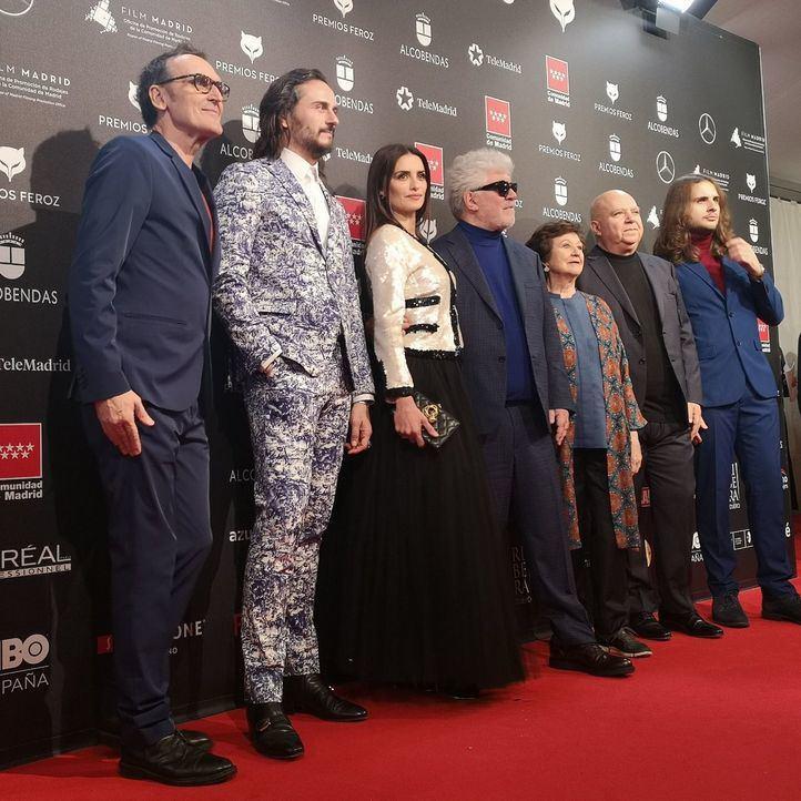 Almodóvar y 'Dolor y gloria' arrasan en los Premios Feroz