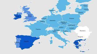 THM y cáncer de vejiga en la Unión Europea