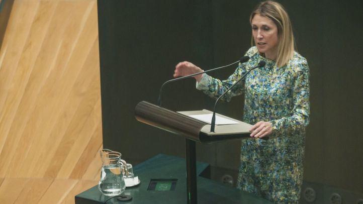 La delegada de Coordinación Territorial, Participación Ciudadana y Transparencia, Silvia Saavedra, en una imagen de archivo.
