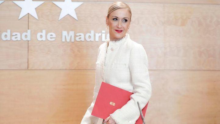 La Audiencia de Madrid juzgará a Cifuentes en mayo por falsedad en el 'caso Máster'