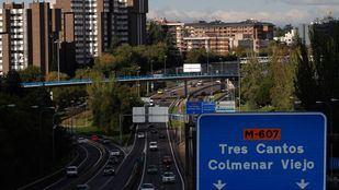 La Comunidad de Madrid refuerza las alternativas de transporte público en el entorno de la M-607