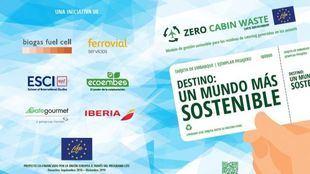 En 2019 se reciclaron más de 2.250 toneladas de envases en los vuelos de Iberia, gracias al proyecto Zero Cabin Waste