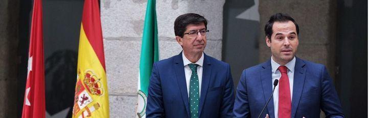 Aguado y Marín reclaman a Sánchez una hoja de ruta para hablar sobre financiación
