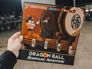 Cartel del concierto 'Dragon Ball Symphonic Adventure'